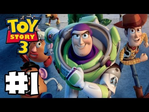 Toy Story 3 The Video-Game - Toy Box Mode - Episode 1 (HD Gameplay Walkthrough)