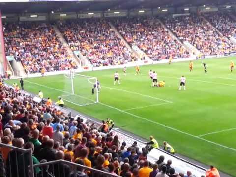 Bradford City A.F.C. vs Sheffield United F.C 24/08/13 (Foul on Gary Thompson)