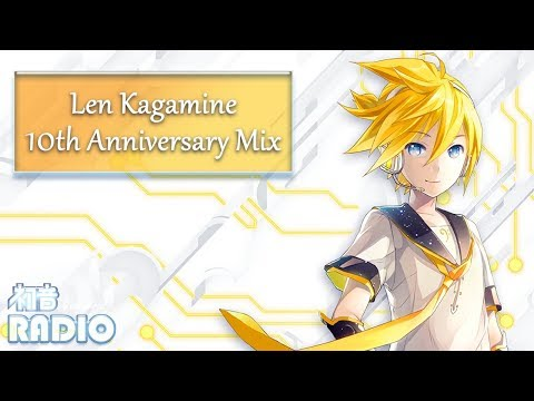 Len Kagamine 10th Anniversary Mix [20 Songs]