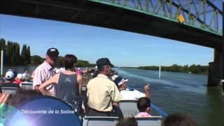 """En croisière à bord du bateau restaurant """"Ville de Pont-de-Vaux 2"""""""