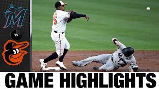 Marlins vs. Orioles Game Highlights (7/28/21)   MLB Highlights Thumb