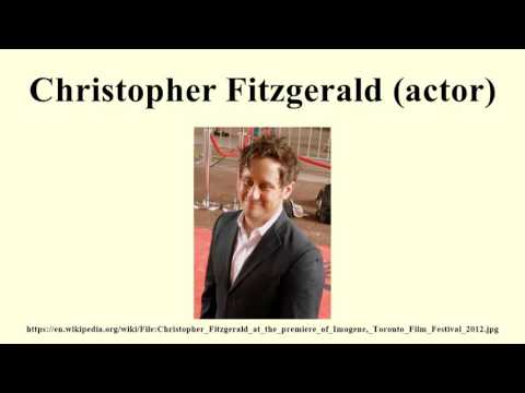 Christopher Fitzgerald (actor)