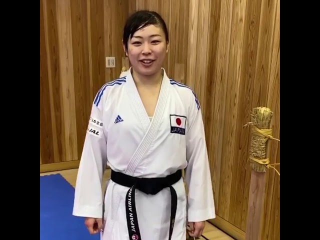 KARATE - Ayumi Uekusa wishes you happy holidays