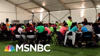 Inside A Detention Camp For Migrant Kids | All In | MSNBC
