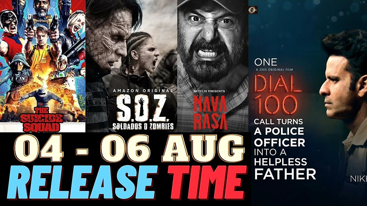 Dial 100 Release Time   Navarasa Release Time   Upcoming Web Series & Movies August 2021   Faheem