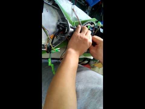 Fix control board+battery+gyroscope