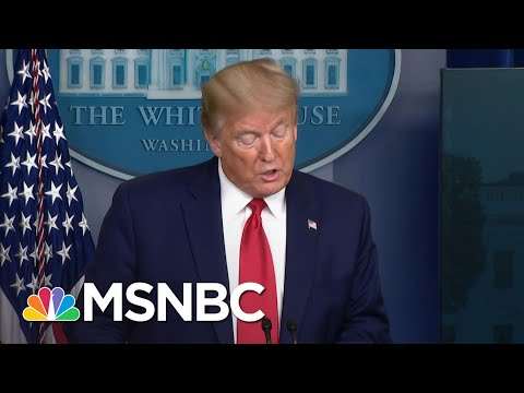 Trump Using Coronavirus Briefings For Reelection Efforts | The Last Word | MSNBC