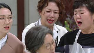 """하나뿐인 내편 - """"내가 네 엄마가 되다니.. 이건 아니야"""" 정재순 에게 머리채 잡힌 이혜숙!.20181103"""