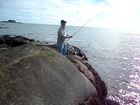 2016 Marblehead, MA Inshore Fishing in the Hope to Catch A Striper Bass