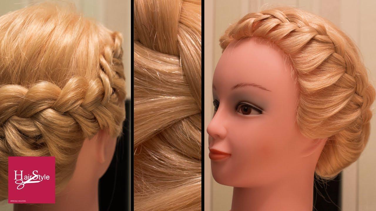 колосок причёска картинки