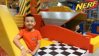 NERF Action Park Indoor Play Centre Fun With CKN Toys