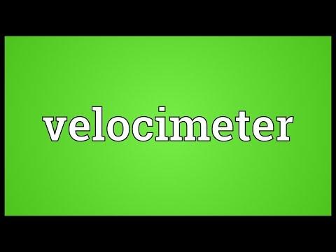 Header of velocimeter