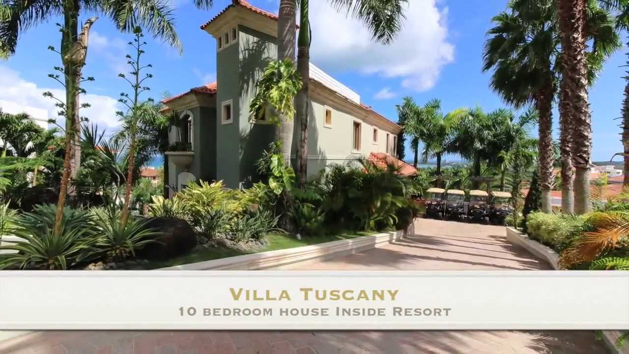 villa tuscany mansion puerto rico caribbean luxury rentals - youtube