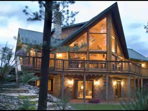 Custom Log Home Cabin Floor Plan Youtube