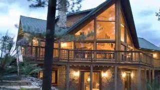 Custom Log Home & Cabin Floor Plan