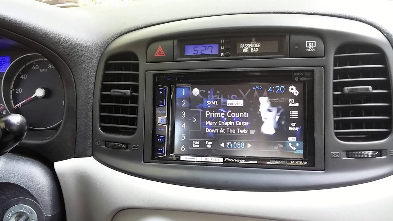2011 Hyundai Accent Aftermarket Radio Installation Youtube