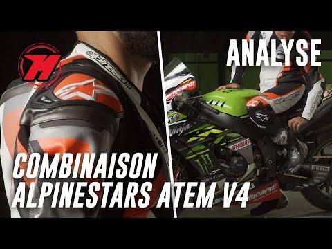 Combinaison moto ALPINESTARS ATEM V4. Caractéristiques !
