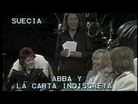 Monica y Andres - interview with ABBA