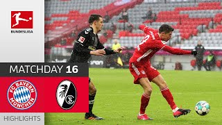 FC Bayern München - SC Freiburg | 2-1 | Highlights | Matchday 16 – Bundesliga 2020/21