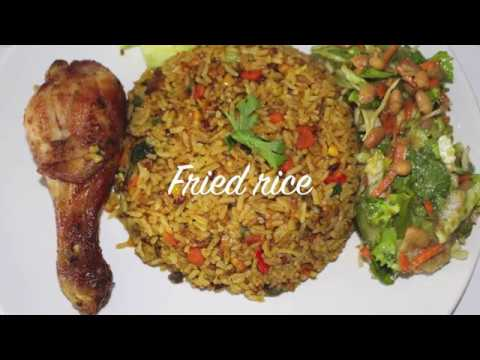 Ghana fried rice cooking with akos youtube ghana fried rice cooking with akos ccuart Gallery