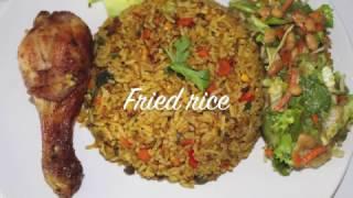 Ghana Fried Rice - Cooking with Akos