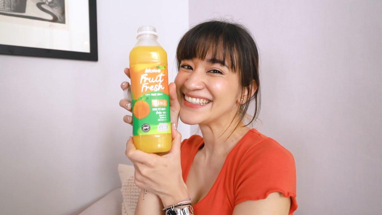 Malee Fruit Fresh x Zom Marie ทุก 10 โมงเช้า เสริมภูมิคุ้มกันกับน้ำส้มมาลีฟรุตเฟรช  HPP process