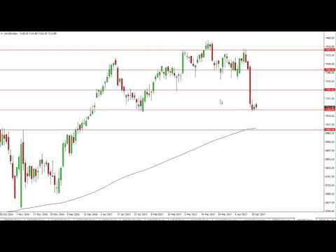 FTSE 100 Technical Analysis for the week of April 24 2017 by FXEmpire.com