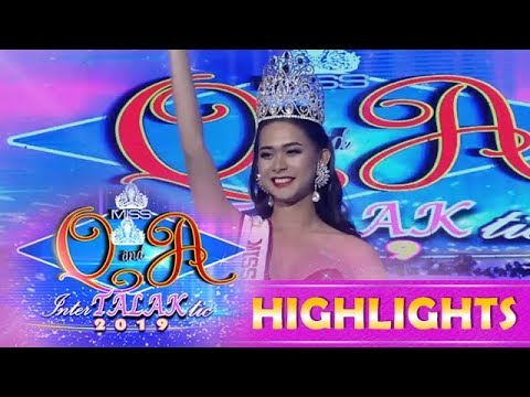 It's Showtime Miss Q & A: Jane Ivanie Gonzales successfully defends her crown