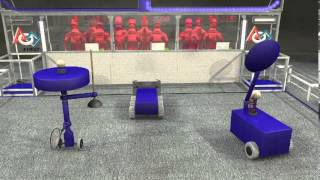 2014 FIRST Robotics Competition Aerial Assist Game Animation