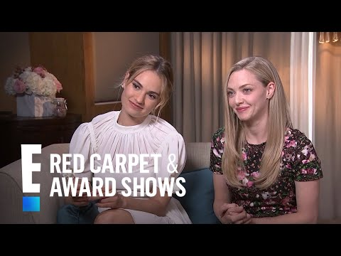 Amanda Seyfried & Lily James Talk
