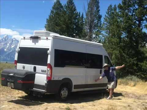 Safari Condo Promaster >> We Build Custom RV Camper Class B Promaster - YouTube