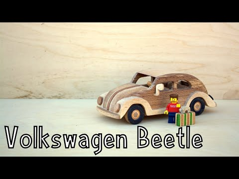How To Make a Wooden Toy Volkswagen Beetle | Wooden Miniature - Wooden Creations