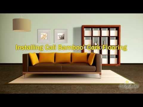 CaliCork™ Glueless Cork Flooring Installation