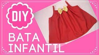 Bata Infantil Com Molde Grátis - Costura Fácil