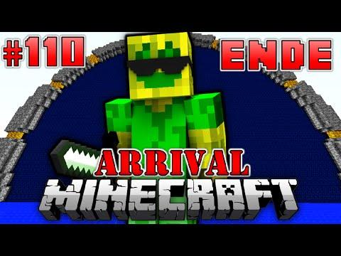 Die ABFAHRT - Minecraft Arrival #110 (Ende) [Deutsch/HD]