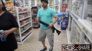 Guns Drawn Inside Ferguson Market