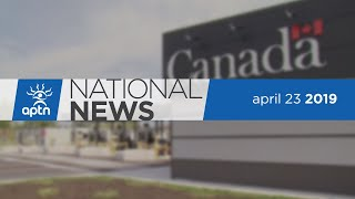 APTN National News April 23, 2019 – Water celebration in Nova Scotia, Wildfires burn in Saskatchewan