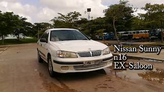 Review of a Nissan Sunny N16 EX-Saloon