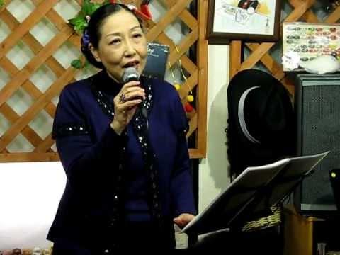島田明美 「愛の糸」 @歌酒房農家(2012/02/25)