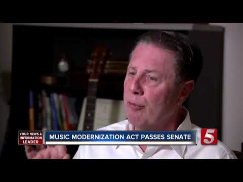 Senate Passes Music Modernization Act Mp3