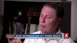 Senate Passes Music Modernization Act