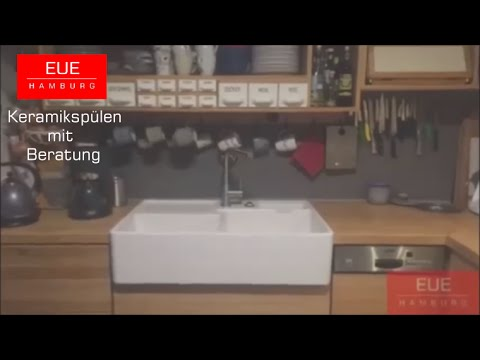 sp lstein doppelbecken von villeroy und boch youtube. Black Bedroom Furniture Sets. Home Design Ideas
