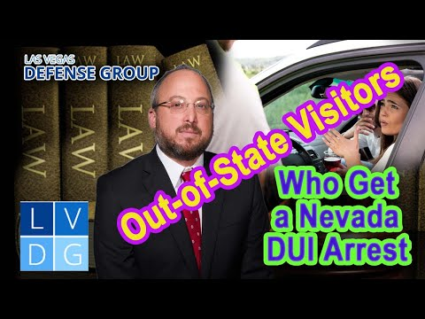 What if I'm an out-of-state driver and get a DUI in Nevada?
