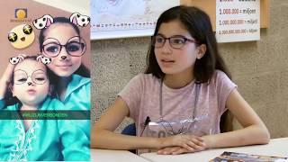 2017 week 29 - Gesprek met Romaissa Magouh, de nieuwe kinderburgemeester.