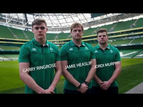Quickfire questions with Irish Rugby