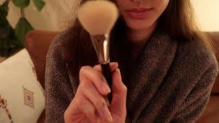 ASMR Doing Your Makeup (Whisper & Soft Spoken)💄👄