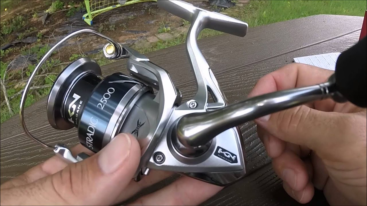 How To Oil Shimano Stradic