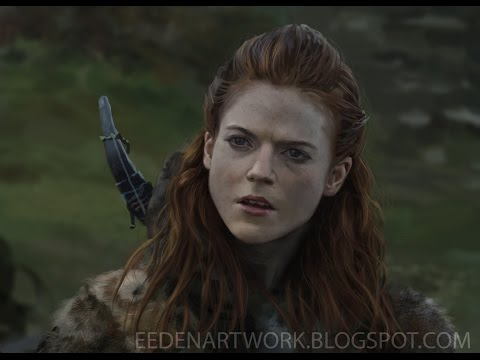 Ygritte Portrait Painting (With audio)