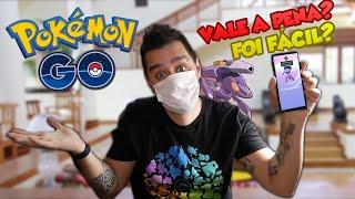 CAPTUREI O GENESECT SEM SAIR DE CASA! - Pokémon Go   Completando a 5 Gen #28