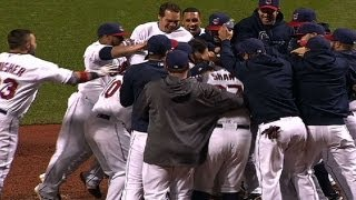 Pulse of the Postseason: Indians and Braves walk off